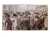 The Ringstrasse, Vienna Giclee Print by Theodore Zasche