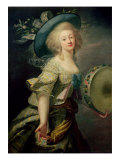 Portrait of Marie-Anne de Cupis Giclee Print by Elisabeth Louise Vigee-LeBrun