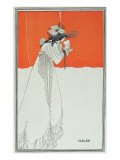 Isolde Drinking the Poison Giclee Print by Aubrey Beardsley