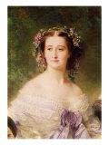 Empress Eugenie Giclee Print by Franz Xavier Winterhalter