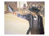 Wild Bill Hickok Giclee Print
