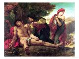 St. Sebastian, 1836 Giclee Print by Eugene Delacroix
