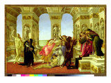 Calumny of Apelles, 1497-98 Giclee Print by Sandro Botticelli