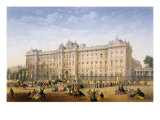 Buckingham Palace, c.1862 Giclee Print by Achille-louis Martinet
