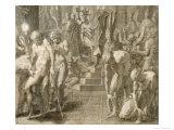 Masquerade at Persepolis Giclee Print by Francesco Primaticcio