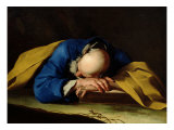 St. Peter or St. Jerome Sleeping, c.1735-39 Giclee Print by Giuseppe Antonio Petrini
