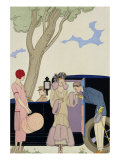 Envy, 1914 Giclee Print by Georges Barbier