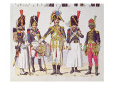Grenadier Guards of the First Empire Giclee Print by Lucien Rousselot