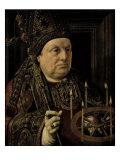 St. Donatian of Rheims Giclee Print by Jan Gossaert