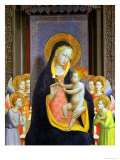 San Domenico Altarpiece, c.1422 Giclee Print by  Fra Angelico