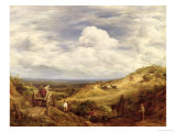 Sand Pits, Hampstead Heath, 1849 Giclee Print by John Linnell