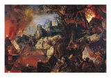 The Temptation of St. Anthony Giclee Print by Pieter Schoubroeck