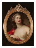 Bacchante, 1783 Giclee Print by Antoine Vestier