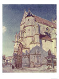 The Church at Moret, 1894 Giclee Print by Alfred Sisley