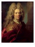 Portrait of a Man, c.1715 Giclee Print by Nicolas de Largilliere