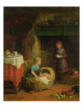 Rock-A-Bye Baby Giclee Print by Frederick Daniel Hardy
