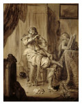 Gentleman at His Toilet, 1660 Giclee Print by Adriaen Pietersz. Van De Venne