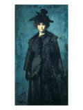Portrait of Madame Laura Leroux Giclee Print by Jean-Jacques Henner
