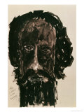 Self-Portrait Giclee Print by Rabindranath Tagore