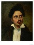 Alexandre Dumas Pere Giclee Print by Eugene Delacroix