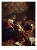The Holy Family Giclee Print by Benedetto The Younger Gennari