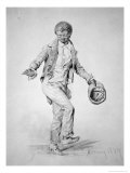 Negro Boy Dancing, 1839 Giclee Print by James Goodwin Clonney