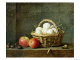 The Basket of Eggs, 1788 Giclee Print by Henri Roland De La Porte