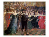 The Court Ball Giclee Print by Abraham Bosse