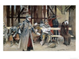 The Country Hospital, 1916 Giclee Print by Francois Flameng