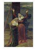The Virgin at the Foot of the Cross Giclee Print by Jean Joseph Weerts