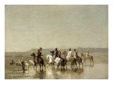 Falcon Hunt, 1862 Giclee Print by Alberto Pasini