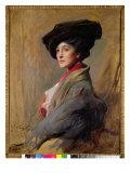 Mrs David Beatty, Later the Countess Beatty Giclee Print by Philip Alexius De Laszlo
