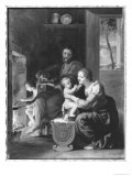 Holy Family, After 1650 Giclee Print by Jacques Stella