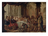 The Marriage at Cana, 1660 Giclée-Druck von Juan de Valdes Leal
