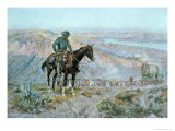 The Wagon Boss Giclee Print by Charles Marion Russell