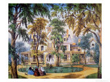 Planter's House, c.1858 Giclee Print by Frances Flora Bond Palmer