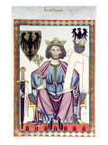 Portrait of a Medieval King Giclee Print