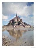 Mont Saint-Michel Giclee Print