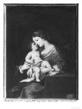 Virgin and Child Giclee Print by Jacques Stella