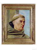 Head of a Monk Giclee Print by Jean Fouquet