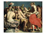The Gods of Olympus Giclee Print by Abraham Janssens Van Nuyssen