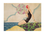 Bather, c.1925 Giclee Print by René Vincent