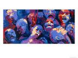 Untitled II - African Aids Epidemic, 1991 Giclee Print by Bayo Iribhogbe