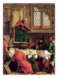 The Sermon of St. Peter, from a Polyptych Depicting Scenes from the Lives of SS. Peter and Paul Reproduction procédé giclée par Hans Suess Kulmbach