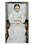 Sick Girl Giclee Print by Christian Krohg