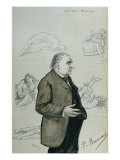 Doctor Jean Martin Charcot Giclee Print by Charles Paul Renouard