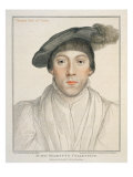 Portrait of Thomas Earl of Surry Giclee Print by Hans Holbein the Younger