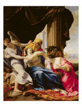 The Death of Dido, 1642-43 Giclee Print by Simon Vouet