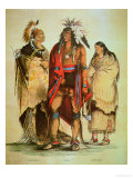 North American Indians Giclee Print by George Catlin