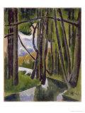 Undergrowth, 1910 Giclee Print by Roger de La Fresnaye
